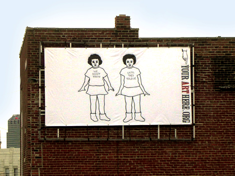 Massachusetts Ave. Billboard Project: Judith G. Levy