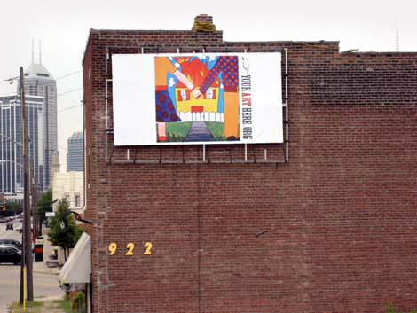 Massachusetts Ave. Billboard Project: Molly Stevenson